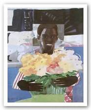 Mother's Bouquet Ray Horner African American Art Print 16x20