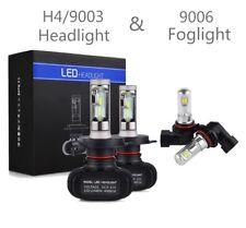 For Toyota Tundra 2000-2006 4x Combo 9003 H4 9006 LED Headlight Fog Light Bulbs