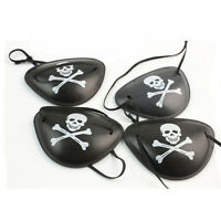 Pirate Costume Plastic Eye Patch Kid Party Goody Loot Filler Bag Favor Supply 6X