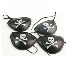 6pcs Pirate Skull Eye Patch Party Cosplay Pirate Favor Bag Costume Cool Kids Toy