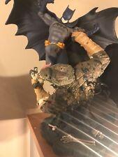 DC Direct Batman vs. Killer Croc Statue 1st Edition