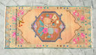 Small Bath Sink Rug Hand Made Kitchen Mat Home Deco Yastik Rugs 1.10 x 3.9 ft
