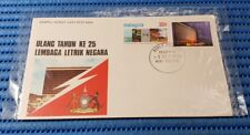 1974 Malaysia First Day Cover 25th Anniversary of the National Electricity Board
