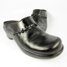 Ariat ATS Clogs/Mules Womens Size 8B Black Leather Slip-Ons Slides Loafers