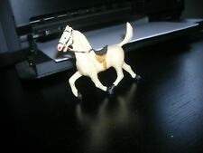MICHEL FRANCE TOY HORSE TOY SOLDIER VINTAGE 1960'S PLAYSET .