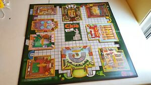 The Simpsons Clue Game Board Game Replacement Board