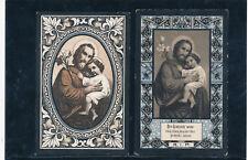 4 Sterbe-Heiligenbilder aus Andrichsfurth von 1897-1902   (2)-(HB5)