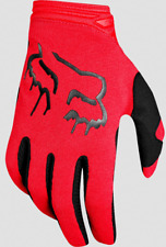 FOX RACING WOMENS FLAME RED DIRTPAW MATA MX GLOVES OFF ROAD DIRT BIKE size S M