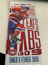 unused season hockey  tickets Montreal Canadiens Max Domi Toronto