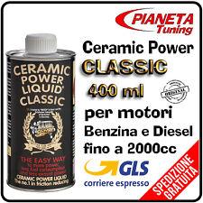 NUOVO CERAMIC POWER LIQUID CLASSIC 400ml motori BENZINA E DIESEL fino 2000cc