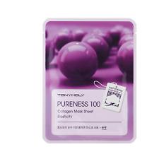 TONYMOLY Pureness 100 Mask Grape SHEET MASK Korean Elasticity