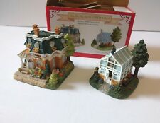All in One From Liberty Falls 1999 Rosie's Flower Shop & Greenhouse in Box Minis