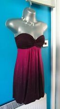 Jane Norman dress 8 bodycon wedding mini midi evening Christmas prom gown  flare