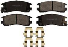 Disc Brake Pad Set-ProSolution Semi-Metallic Brake Pads Rear Monroe FX698