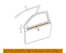 Door-Window Sweep Belt Molding Felt Weatherstrip Left 7571221030