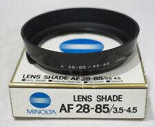 OEM Minolta Lens Shade Hood f/ AF 28-85mm f3.5-4.5 Lens NIB NOS #724
