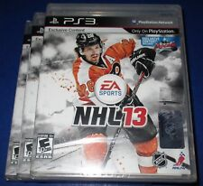 Lot of 3 NHL 13 Sony PlayStation 3 - PS3 - *Factory Sealed! *Free Shipping!