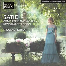 Erik Satie: Complete Piano Works, Vol. 1 ''Urtext Edition'' [New CD]
