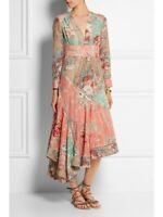 Zimmermann Anais Patchwork midi dress- size 0.     PEAR5 FOR $5 OFF