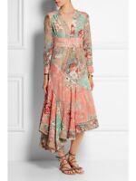 Zimmermann Anais Patchwork midi dress- size 0