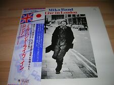 LP Sadistic Mika Band Live In London OBI DTP 72185 made in Japan