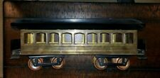 "Carlisle & Finch RARE 2"" Gauge Mid-Sized #60 9 Window Pullman Car!"
