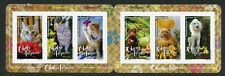 French Polynesia 2017 MNH Cats & Dogs 6v S/A Booklet Pets Animals Stamps