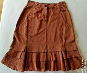 Simclan Rock Gr.38 80% REDUZIERT Farbe Siena Womanfashion Baumwolle