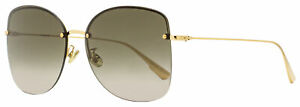 Dior Rimless Sunglasses Stellaire 7F 000HA Gold 62mm