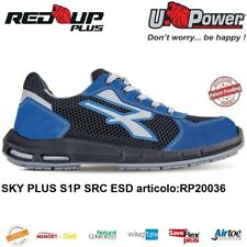 UPOWER SCARPE ANTINFORTUNISTICA SKY PLUS S1P SRC ESD U-POWER RED UP PLUS
