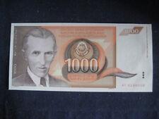 JUGOSLAVIA 1990 S emissione - 1,000 Dinari - 26.11.90 P107-BU