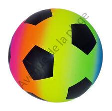 Ballon balle 23 cm multicolore, foot football jeux jouet plage jardin neuf