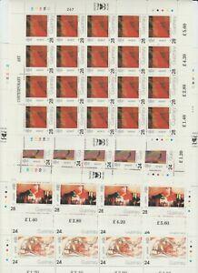 s37836 GUERNSEY EUROPA CEPT MNH** 1993 MSx4