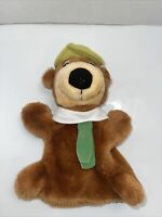 "10"" Vintage Yogi Bear Hand Puppet 1991 Hanna Barbera"