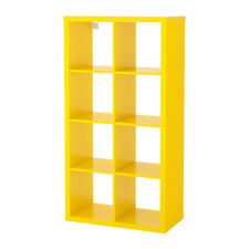 Ikea Kallax 2 x 4 Shelf Unit Yellow 503.233.85