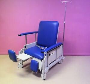 Winco Transmotion S750 Stretchair Bariatric Transport Stretcher Power Chair HiLo