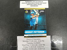 2016/17 CRICKET TAP N PLAY GOLD CARD NO.079 BRIDGET PATTERSON ADELAIDE STRIKERS