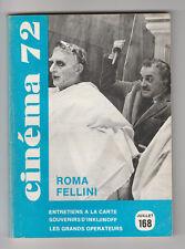 CINEMA 72 N° 168 BRIGITTE BARDOT JEANNE MOREAU MARIE DUBOIS POLLACK REDFORD