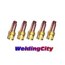 "5-pk TIG Welding Gas Lens Collet Body 45V26 3/32"" Torch 17/18/26 US Seller Fast"