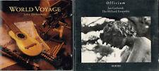 Jan Garbarek + World Voyage, John Heberman + Eliot Fisk, Guitar Fantasies 3CDs