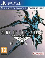 Zone of the Enders The 2nd Runner Mars   PlayStation 4 PS4 NEW FACTORY SEALED.