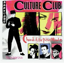 """Culture Club """"Church of the Poisoned Mind"""" 45 Record Picture Sleeve no record"""
