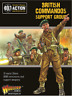 BRITISH COMMANDOS SUPPORT GROUP - BOLT ACTION - WARLORD GAMES