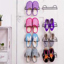 Shoe Rack Hanging Portable Storage Door Organizer Over Wall Hanger Space Closet