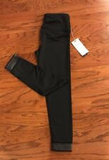 NWT $58 Women Kyodan Yoga Active Running Capri Tight Black S the shaper fit
