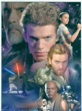 Star Wars Attack Of The Clones [UK] Binder Exclusive Promo Card B1