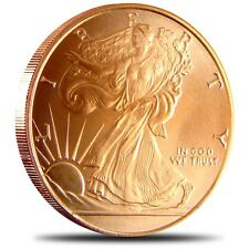 1 oz Copper Round - Walking Liberty