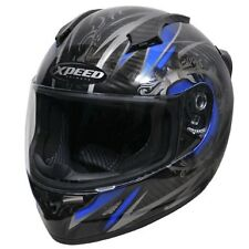 HJC Xpeed XCF3000 Quest Carbon Blue Full Face Motorcycle Sportbike Helmet XS XSM