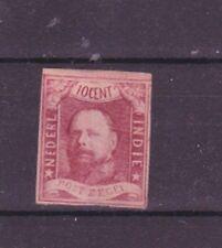 netherlands indies 1864 imperf,set ,Sc 1 l120