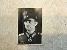 WW2 KGB PHOTO General EDUARDO DIETL KNIGHTS  IRON CROSS & SWORD OF NAZI Germany